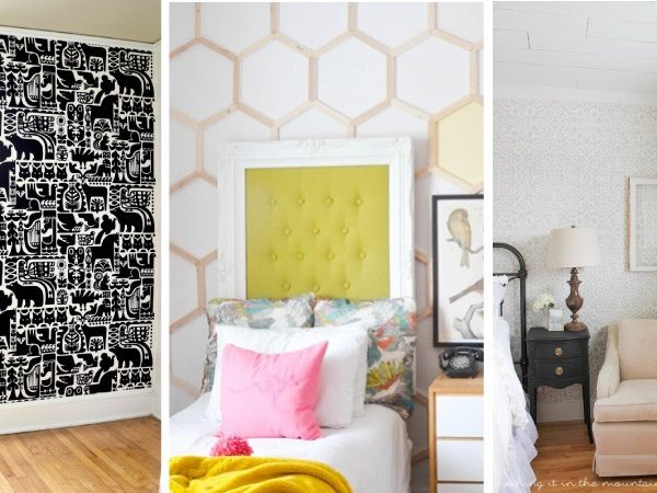 10 DIY Wall Covering Ideas