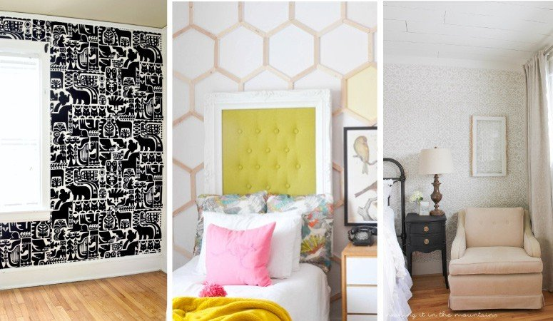 10 Diy Wall Covering Ideas Kaleidoscope Living