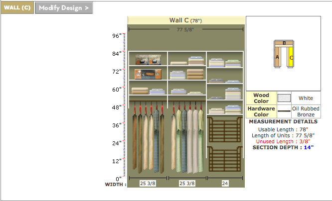 Finally! An affordable but awesome DIY closet system option. Most DIY closet systems are super expensive and hard to assemble and install, but this looks doable!