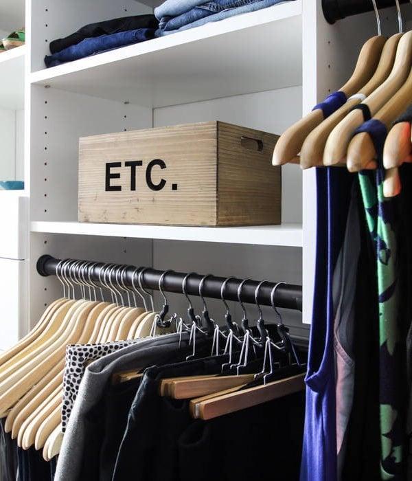 DIY Closet System REVEAL ~ I'm in love!