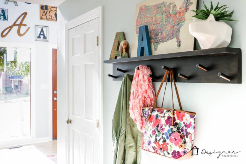 light and bright entryway and hall