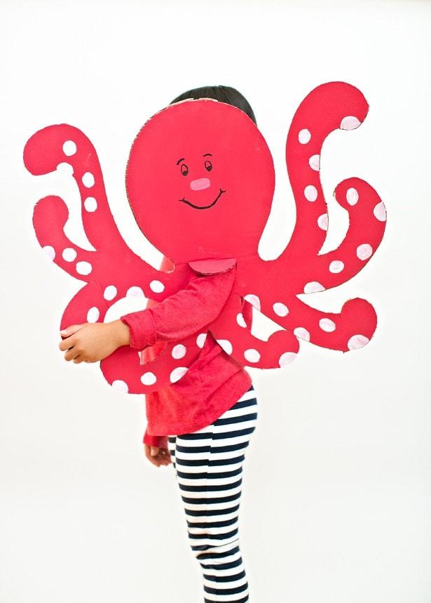 DIY octopus costume