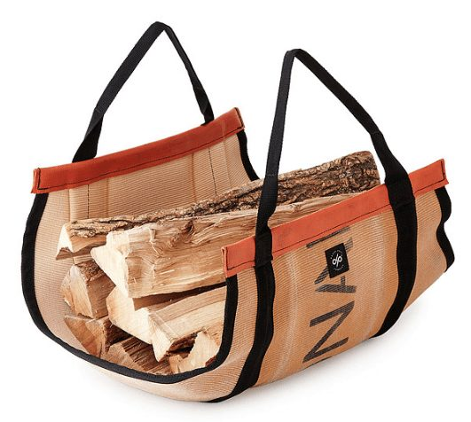 fire hose log carrier