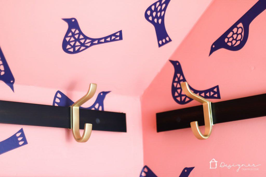 Learn how to make DIY wallpaper that is removable and affordable!