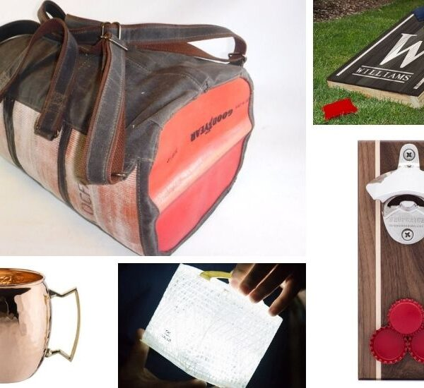 Cool Gift Ideas for Men (for those difficult to shop for men in your life)!