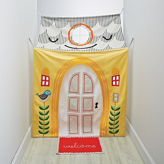 hallway tent