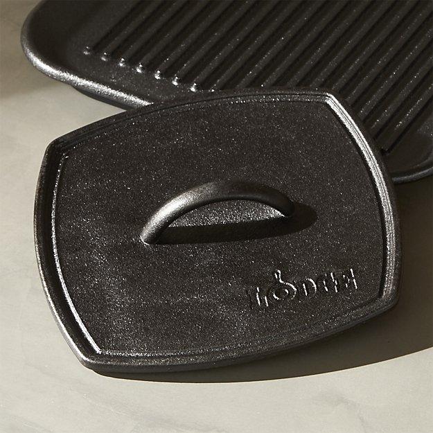 cast iron panini pan