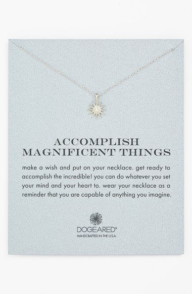 dogeared star necklace
