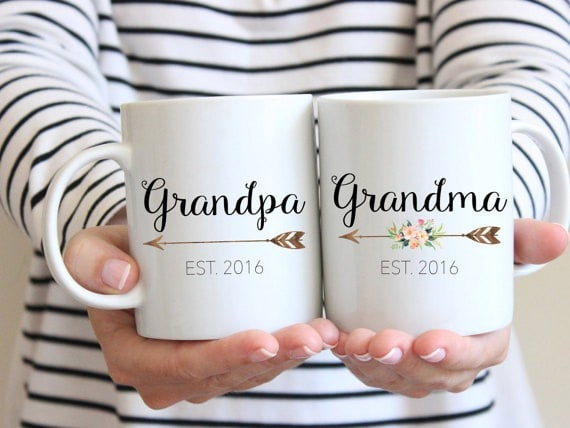 grandma and grandpa mugs