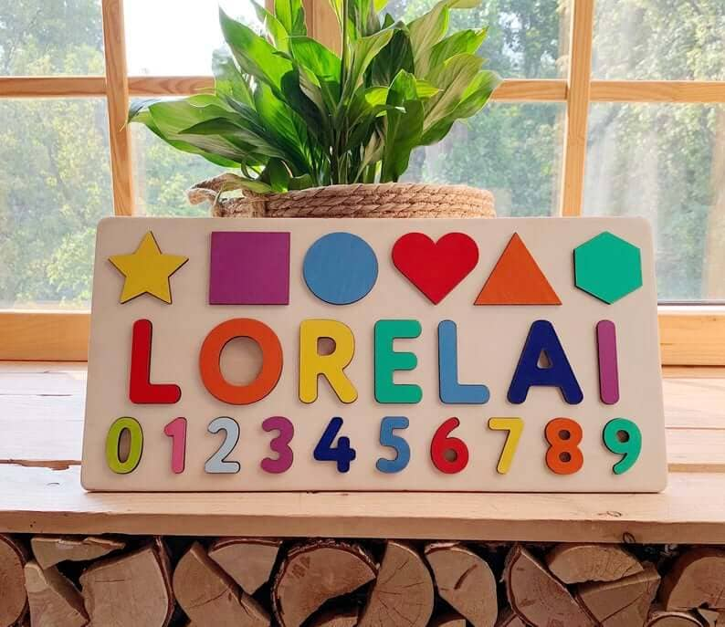 personalized name puzzle