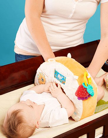 diaper changing pillow