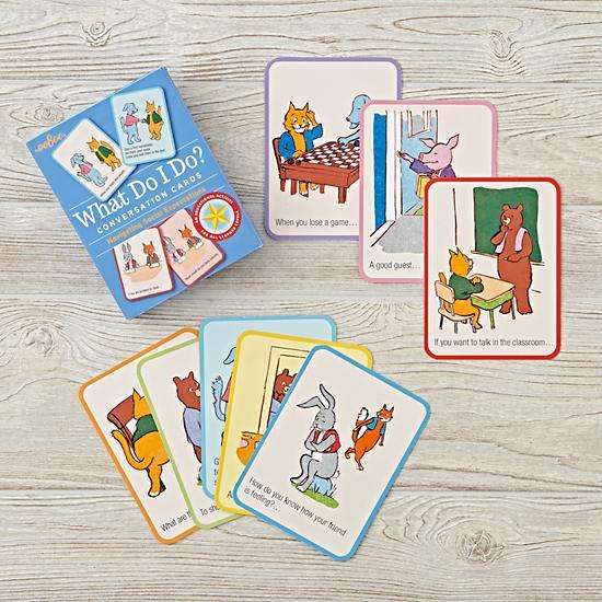 kids conversation cards