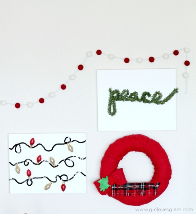 Love these original and creative DIY Christmas room decor ideas! If you need ideas for Christmas room decorations, be sure to check these out--my faves are number 2 and 6!