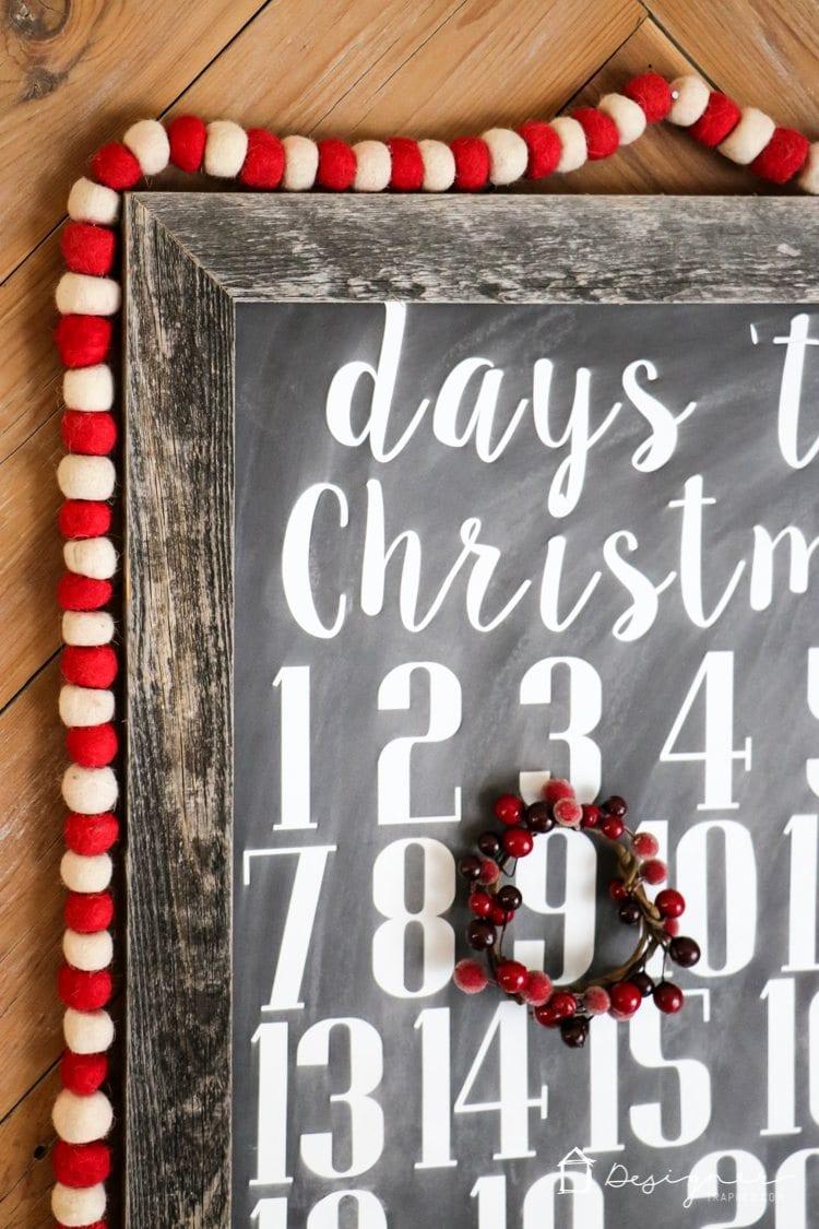 Diy Christmas Countdown Calendar Kaleidoscope Living