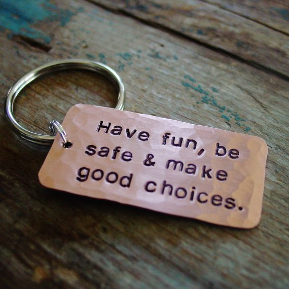 be safe key chain for teen