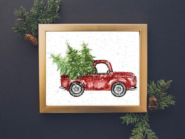 FREE Christmas Printables for Your Home