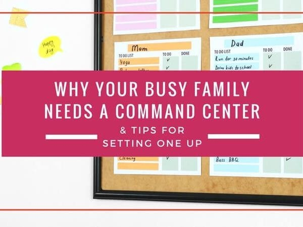 You cannot imagine how much a family command center will help you keep your family and life organized. These family command center ideas have me super motivated to work on my home organization ASAP.