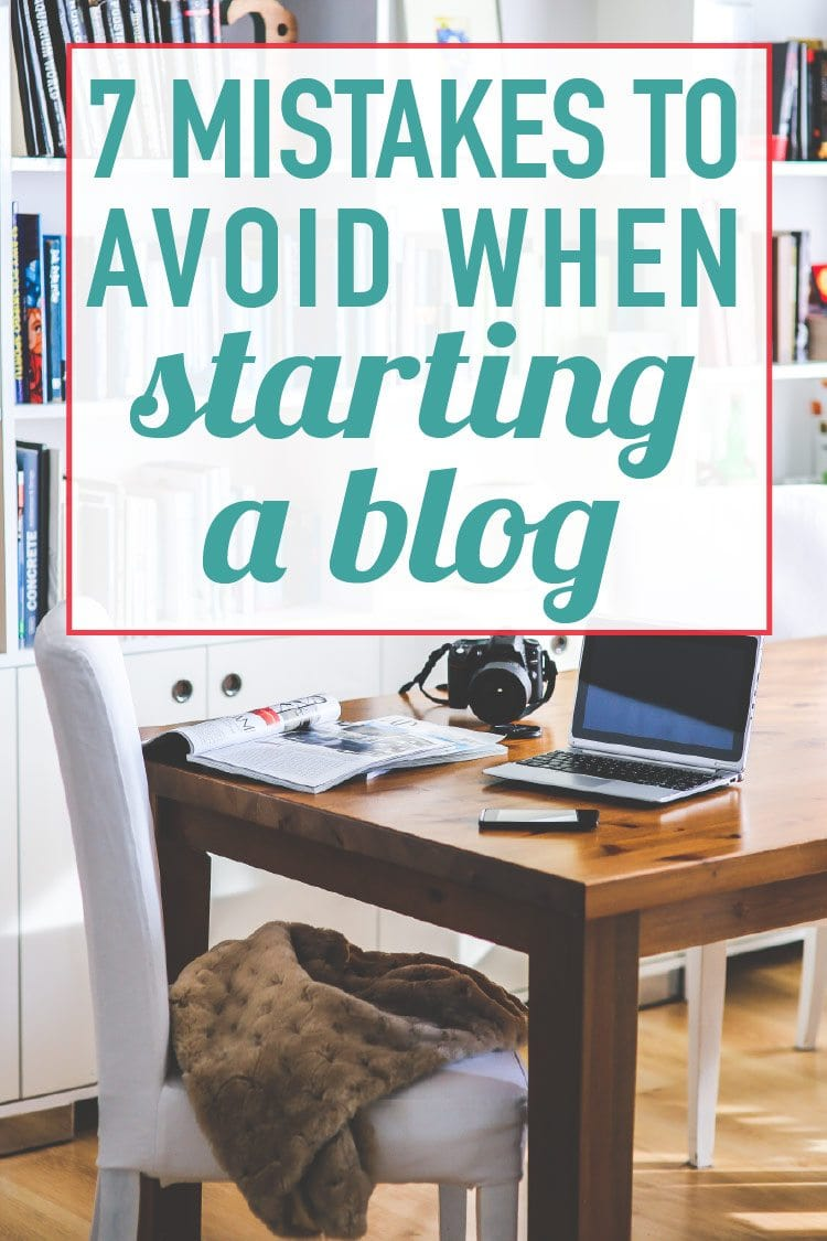Biggest blogging mistakes! OMG, everyone needs to read this before starting a blog! Starting a blog for free is so easy, but it is a mistake in the long run. Now I know how to start a blog the right way!