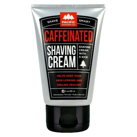 caffeinated shave lotion