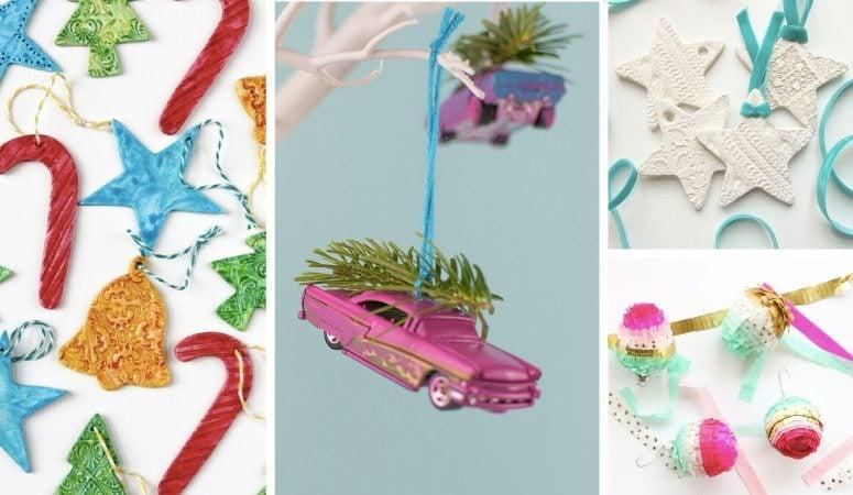 Christmas Decorations To Make Yourself.Diy Unique Christmas Ornaments Decoration Ideas Designer