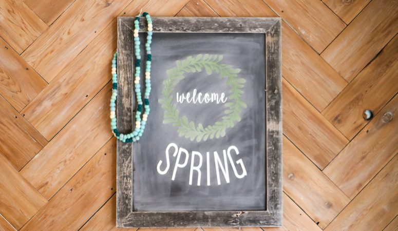 DIY Chalkboard Signs - The Easy Way!