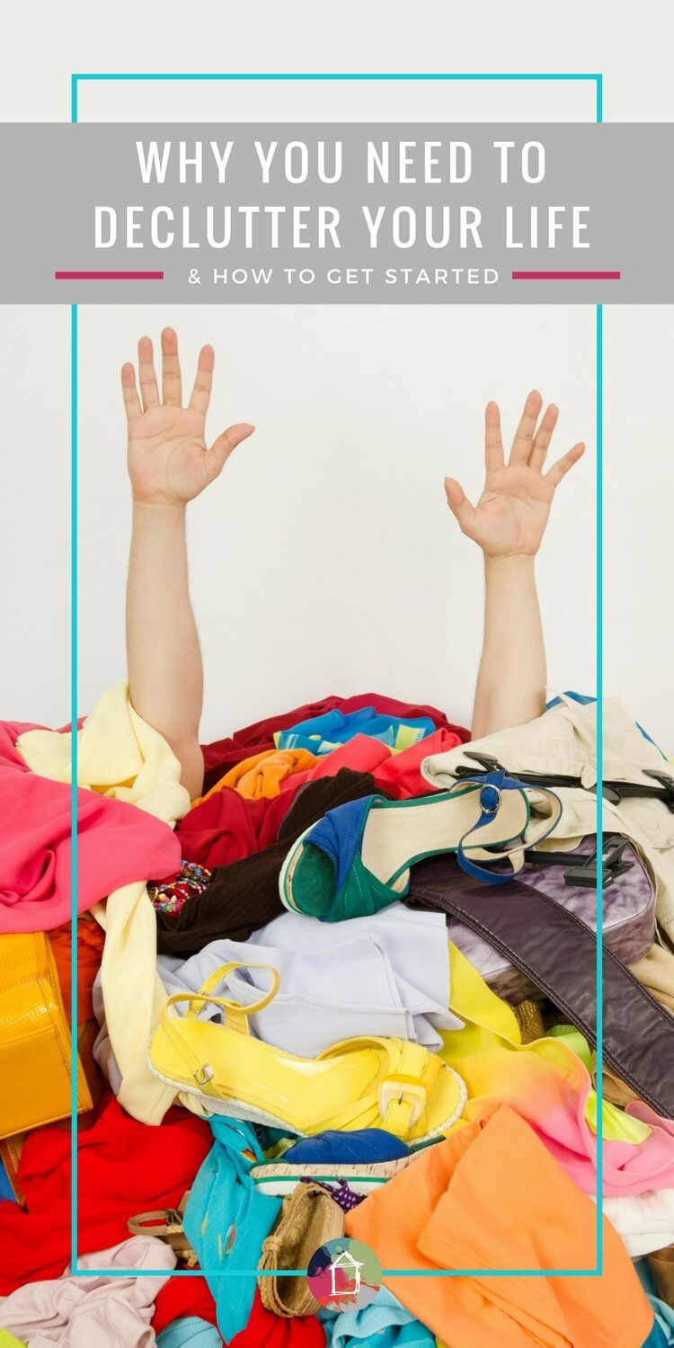 There are 3 BIG reasons that you NEED to declutter your life. Seriously, when you declutter your home, you will be surprised how much your live improves. This is a great article that shares some great decluttering tips if you are just getting started. #declutter #decluttering