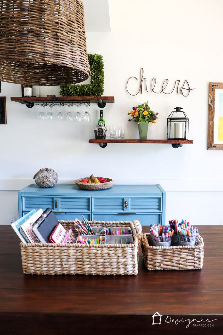 LOVE These Dining Room Storage And Organization Ideas Im Not The Only Person