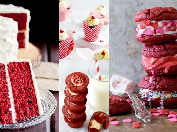 WOW. All of these red velvet Valentine's Day desserts look AH-MAZING. Red velvet desserts are my favorite and are perfect for Valentine's Day treats. Can't wait to try number 7 and 18!