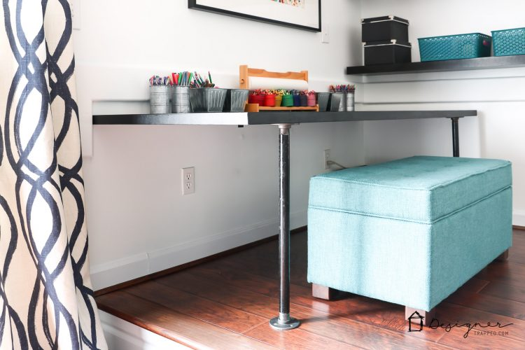 Diy Pipe Desk A K A The Easiest Desk Ever