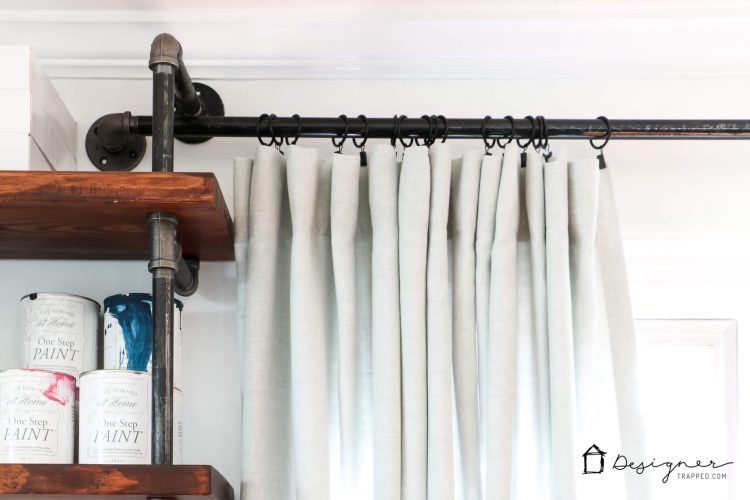 Tips for when to buy curtains vs. when to make them yourself!