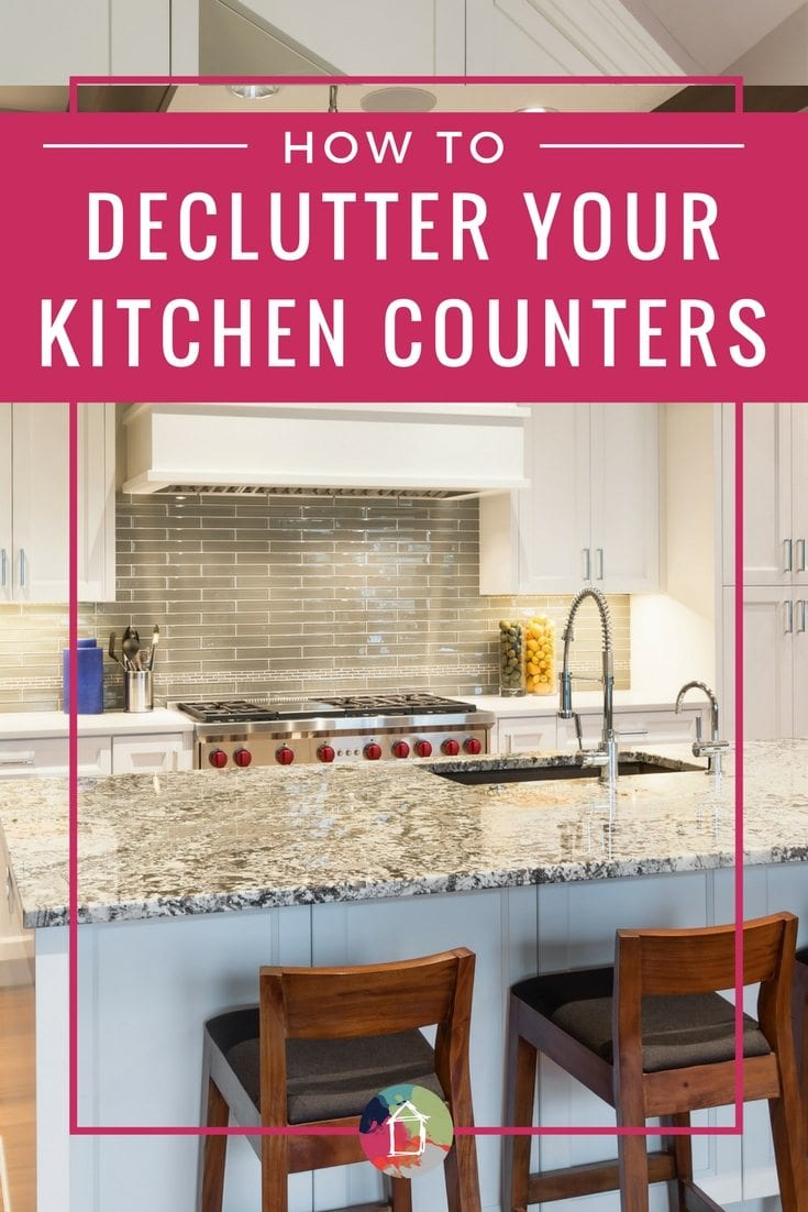 Countertop Storage Decluttering Ideas