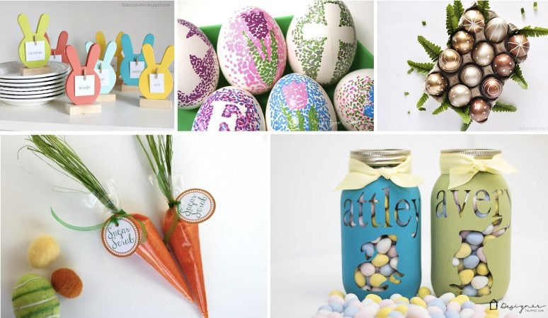 My Favorite Diy Easter Craft Ideas Kaleidoscope Living