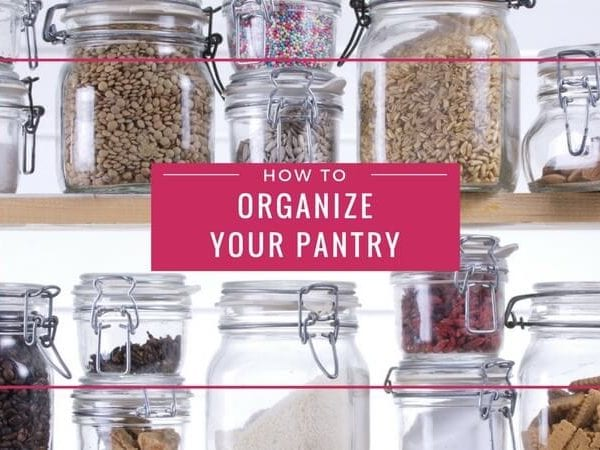 Need pantry organization ideas and tips? These pantry organization and storage ideas are so practical and can be used by normal people. So many pantry organization ideas I see are all about adding pretty labels, which is nice, but this article actually gives you solid pantry storage ideas and advice that make your pantry more usable and help you take advantage of wasted space!