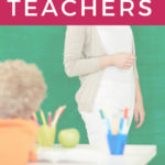 image of teacher and teacher gift ideas