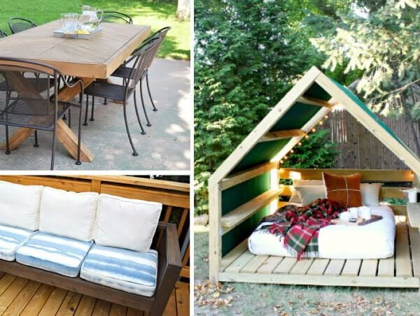 Creative DIY Outdoor Furniture Ideas that Won't Break the Budget