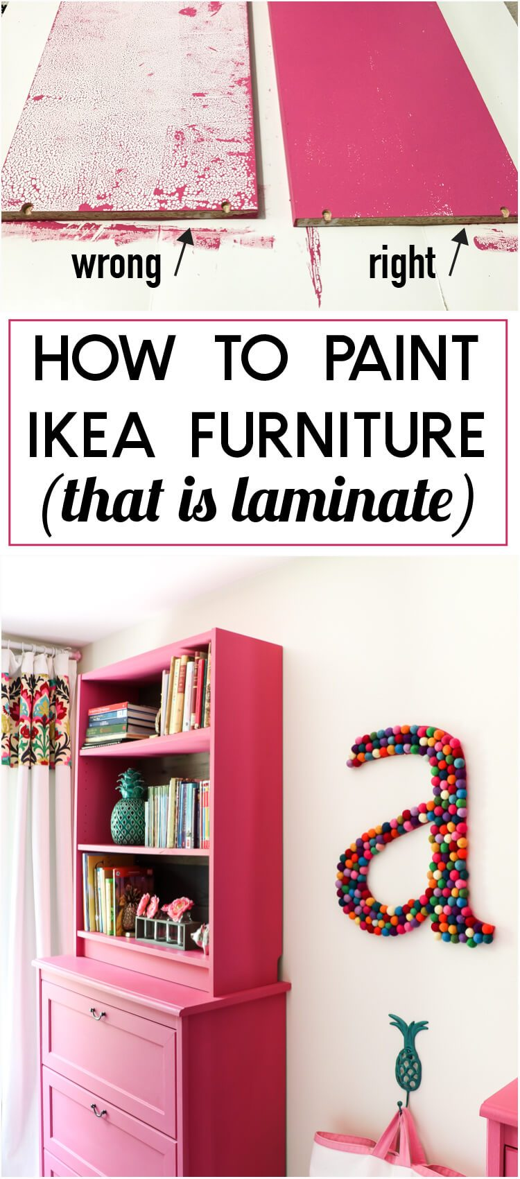 Tricks to painting ikea furniture what not to do for Tutorial ikea home planner