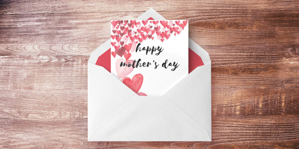 picture regarding Printable Mothers Day Cards for Kids named Cost-free Printable Moms Working day Playing cards Kaleidoscope Dwelling
