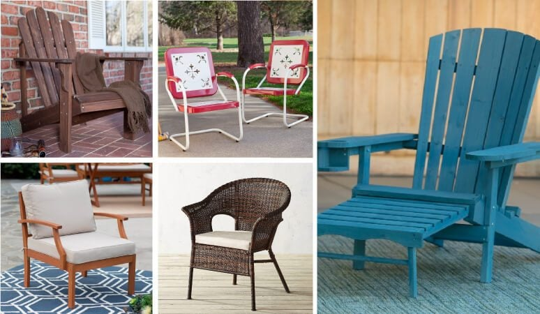 Outdoor furniture can be so expensive, but there is some affordable outdoor furniture out there if you know where to look! Click this pin to see the absolute best deals for stylish outdoor furniture options that won't cost you a fortune.