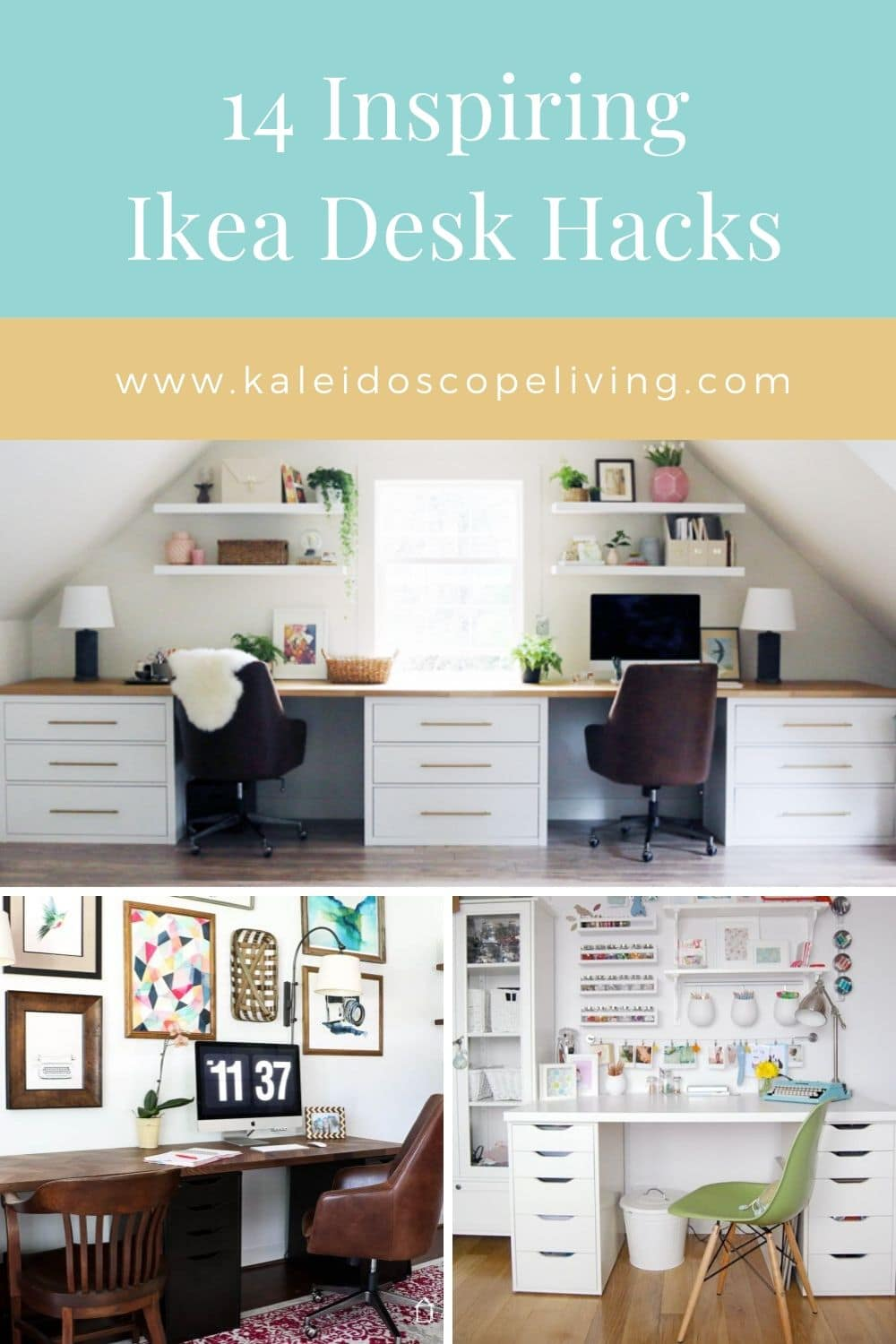 DIY Ikea Desk Hacks