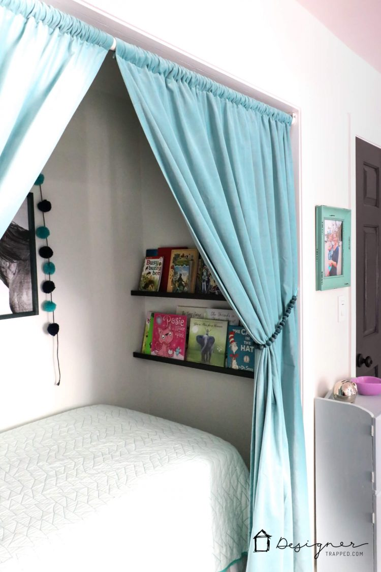 How to turn a closet into a bed nook - Turning a bedroom into a closet ideas ...