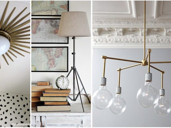 17 Inspiring & Affordable DIY Lighting Ideas