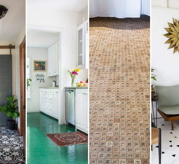 16 Gorgeous But Cheap Flooring Ideas