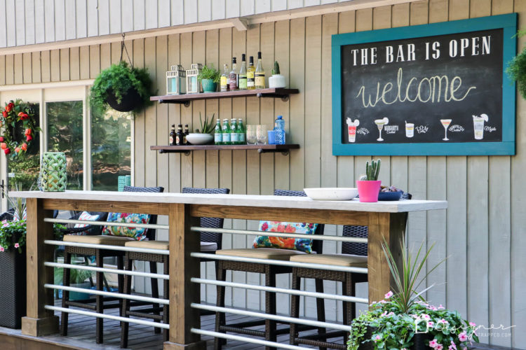 Dreaming Of An Outdoor Bar Or Deck We Were Too And Are Sharing