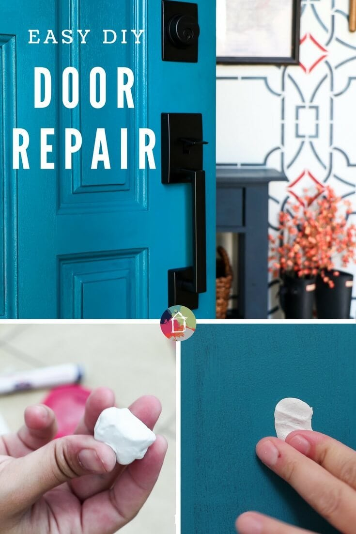 DIY door repair is fast and easy--repair holes and rot in doors with ease. Just follow this step-by-step tutorial.