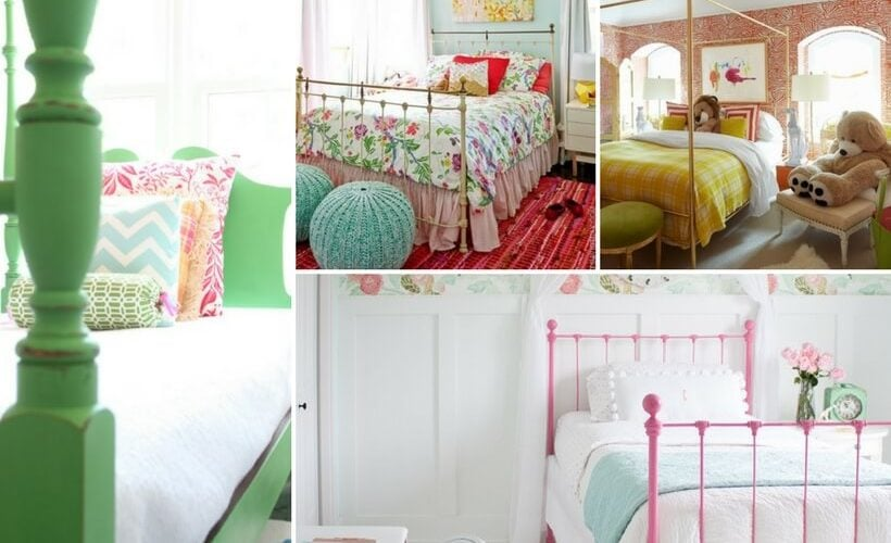 The bed is the focal point and centerpiece of every bedroom. Struggling to pick the perfect bed for your daughter's room? This post gives detailed tips for how to choose the perfect girl's beds!