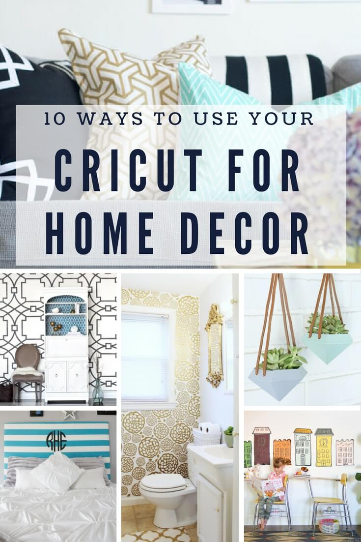 Wondering What You Can Make With Your Cricut Cutting Machine This List Of DIY