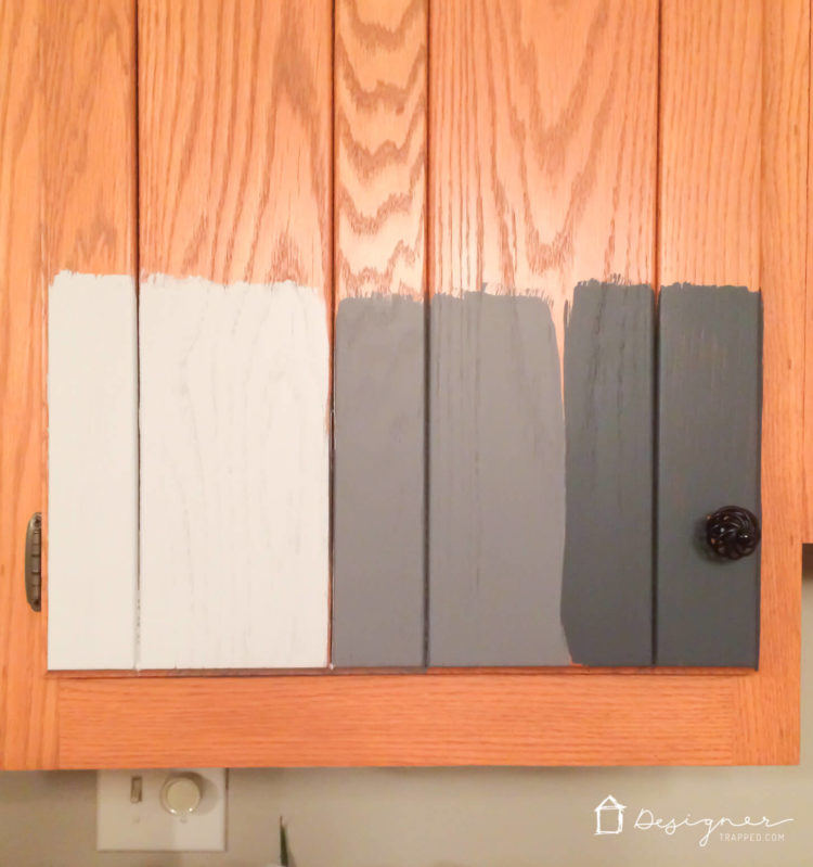 Are you wondering  should I paint my kitchen cabinets?  Be sure to ask & Should I Paint My Kitchen Cabinets? | DesignerTrapped.com