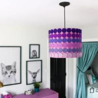 DIY Lampshade - Ombre Style!