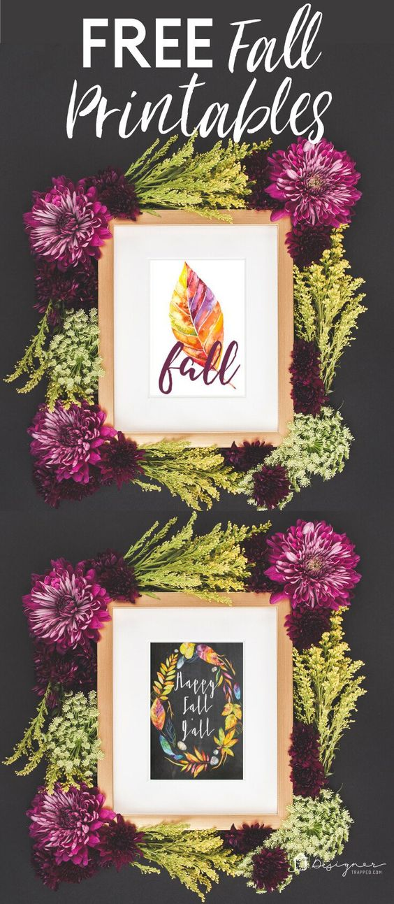 Fall printables are one of the easiest ways to add a touch of Fall to your home for the season. This is the best collection of Fall printables out there!