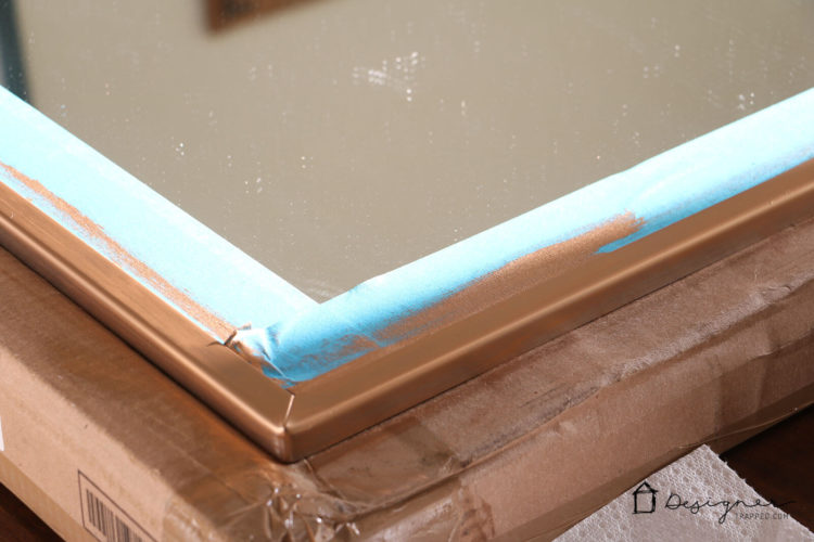 Rub N Buff makes high-end finishes possible on a tiny budget. This DIY faux gold finish took me about 10 minutes!